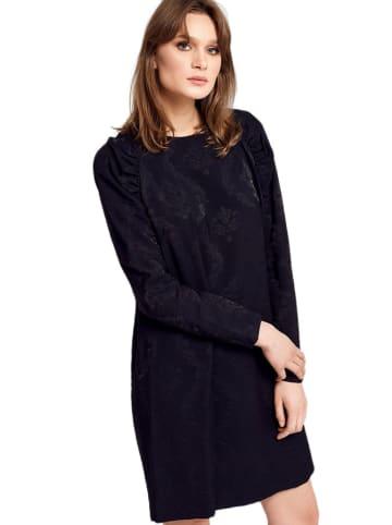 Deni Cler Sukienka w kolorze czarnym