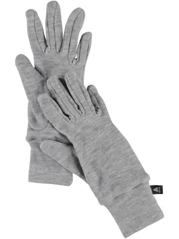 """Odlo Rękawiczki """"Warm"""" w kolorze szarym"""