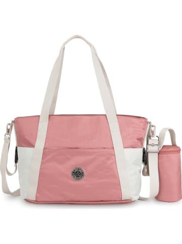 """Kipling Luiertas """"Little Heart"""" roze - (B)50 x (H)31 x (D)20 cm"""