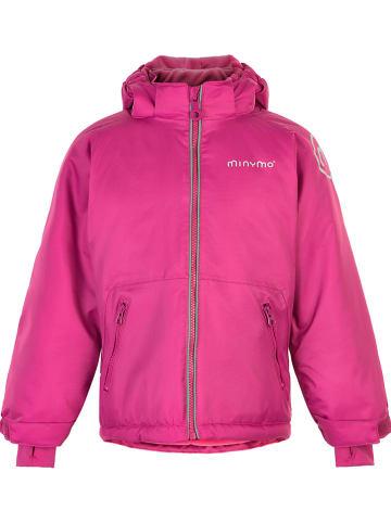 "Minymo Winterjas ""Oxford"" roze"