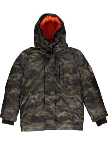 """Geographical Norway Płaszcz zimowy """"Darwin"""" w kolorze khaki"""
