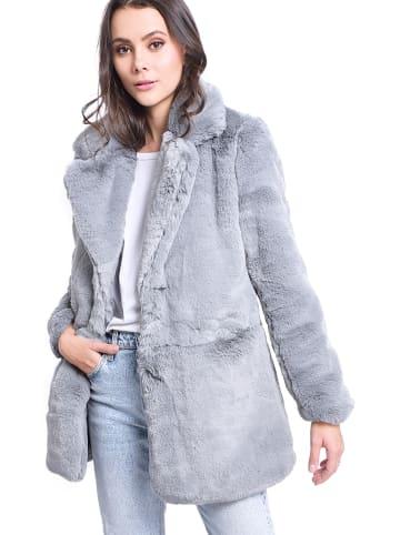ASSUILI Płaszcz w kolorze szarym