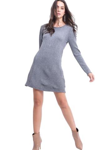 ASSUILI Kleid in Grau