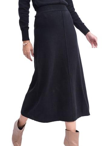 ASSUILI Spódnica w kolorze czarnym