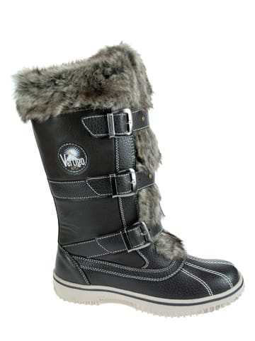 Vertigo Kozaki zimowe w kolorze czarnym