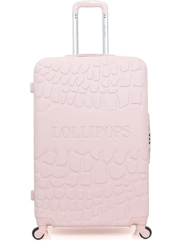 """Lollipops Hardcase-Trolley """"Oeillet"""" in Rosa  - (B)47 x (H)75 x (T)29 cm"""