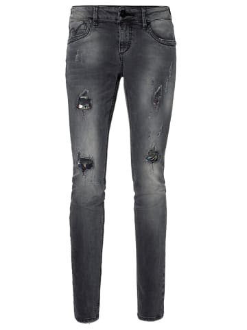 "Timezone Jeans ""Silva"" - Slim fit - in Grau"