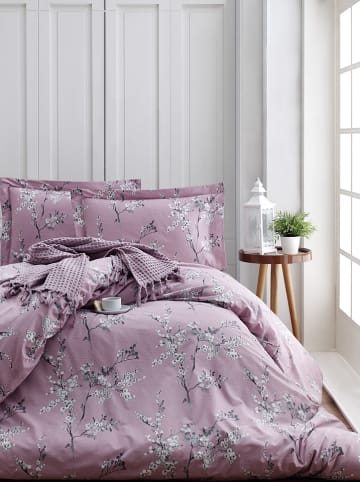 """Colourful Cotton Renforcé beddengoedset """"Chicory"""" paars"""