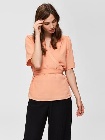 SELECTED FEMME Shirt abrikooskleurig