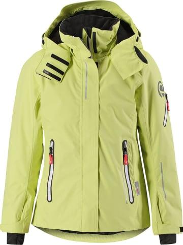 """Reima Kurtka narciarska """"Frost"""" w kolorze żółtym"""