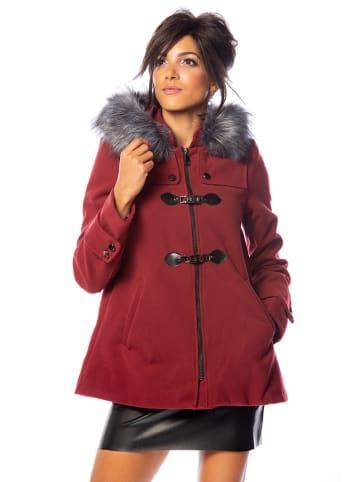 """100% Coats Mantel """"Donna"""" bordeaux"""