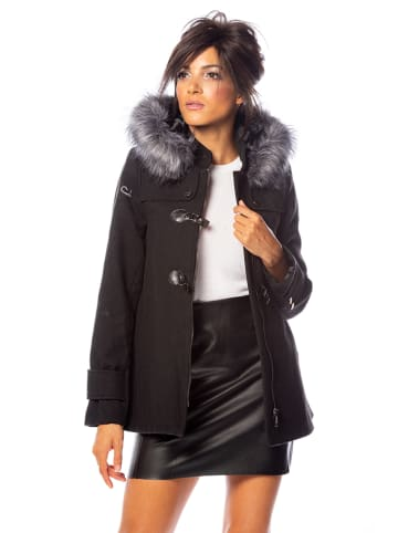 "100% Coats Mantel ""Donna"" in Schwarz"