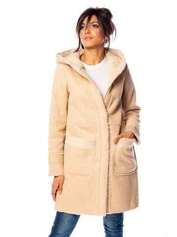 """100% Coats Płaszcz """"Leslie"""" w kolorze beżowym"""