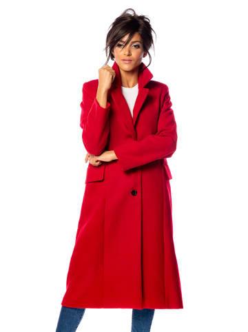 "100% Coats Mantel ""Shirley"" rood"