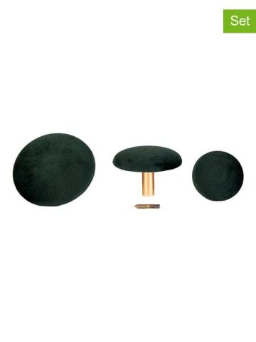 House Nordic 3-delige set: meubelknoppen zwart/goudkleurig