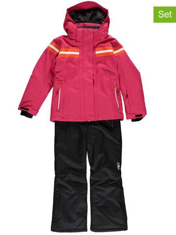 CMP 2-częściowy zestaw narciarski w kolorze różowo-czarnym