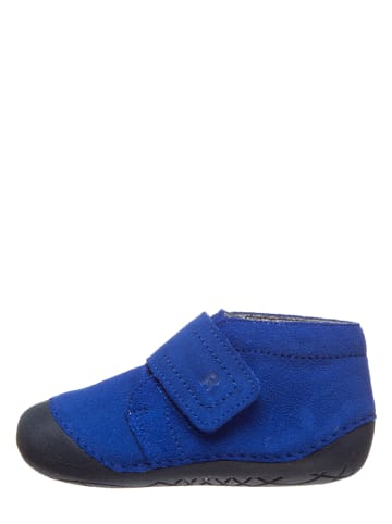Richter Shoes Leren loopleerschoenen blauw