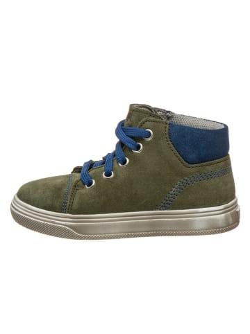 Richter Shoes Leren sneakers kaki