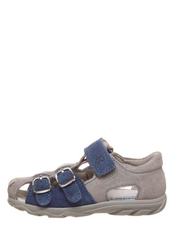 Richter Shoes Leren enkelsandalen donkerblauw