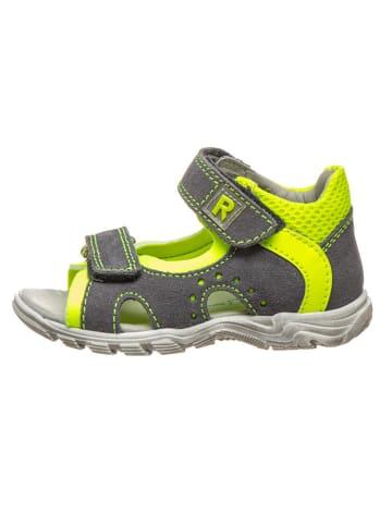 Richter Shoes Leren sandalen grijs