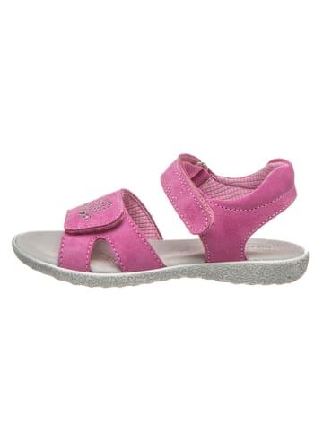 Richter Shoes Leren sandalen roze
