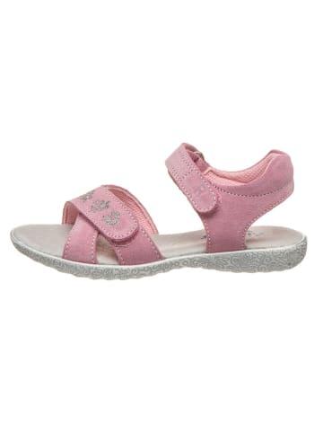 Richter Shoes Leren sandalen lichtroze