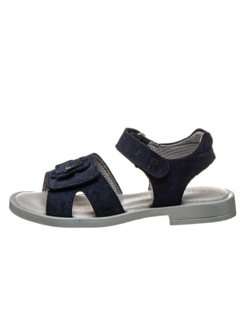 Richter Shoes Leren sandalen donkerblauw