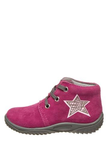 Richter Shoes Leren loopleerschoenen fuchsia