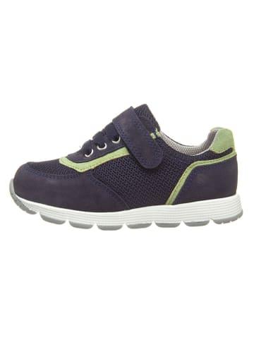 Richter Shoes Sneakers donkerblauw/groen