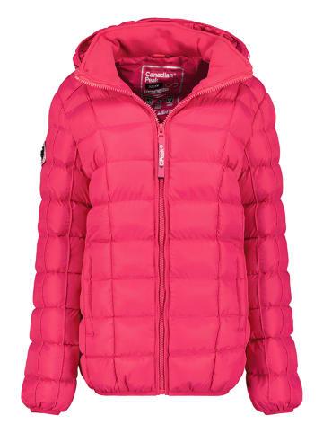 """Canadian Peak Kurtka przejściowa """"Bambolineak"""" w kolorze różowym"""