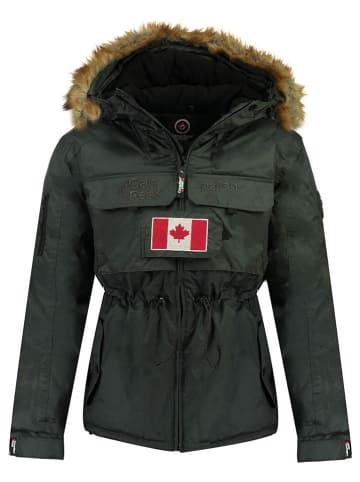"Canadian Peak Winterjas ""Bantouneak"" donkergrijs"