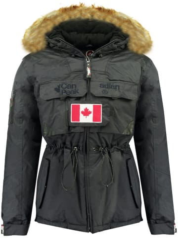 "Canadian Peak Winterjacke ""Bantouneak"" in Dunkelblau"