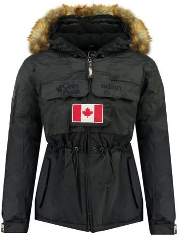 "Canadian Peak Winterjas ""Bantouneaka"" donkerblauw"