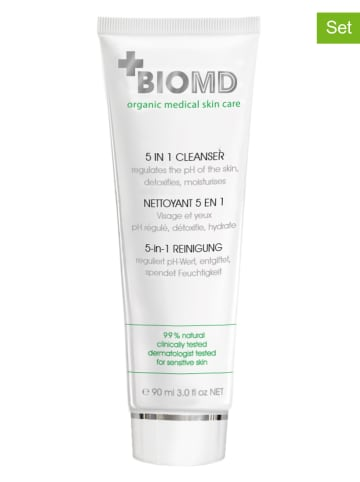 "BIOMED 2-in-1 gezichtsreiniger ""5-in-1 Cleanser"", elk 90 ml"