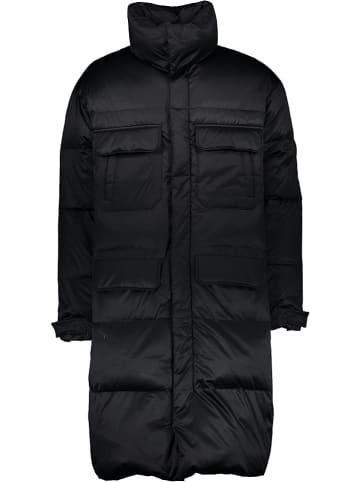 Mexx Płaszcz puchowy w kolorze czarnym