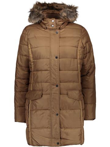 Mexx Płaszcz zimowy w kolorze jasnobrązowym