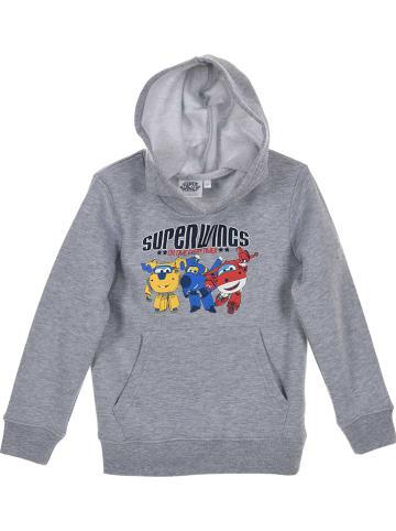 """Super Wings Sweatshirt """"Super Wings"""" in Grau"""