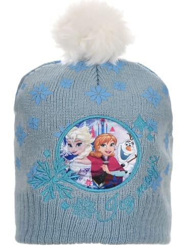 """Disney Frozen Czapka """"Frozen"""" w kolorze błękitnym"""