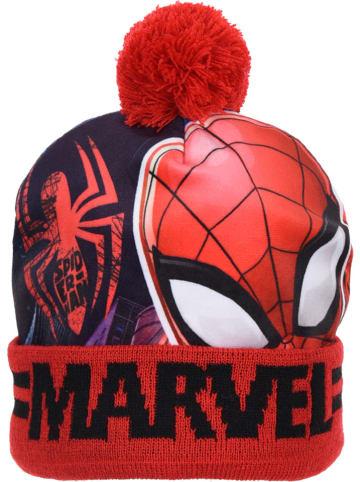 """Spiderman Czapka """"Spider-Man"""" w kolorze czerwonym"""
