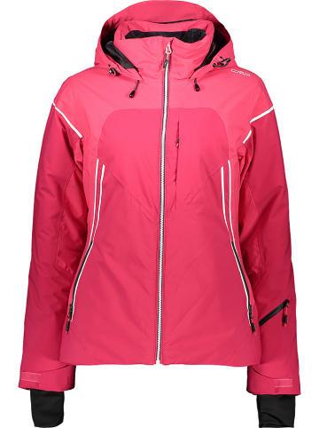 Damen Outdoor Jacke mit Kapuze fuchsia Trachtenjacken