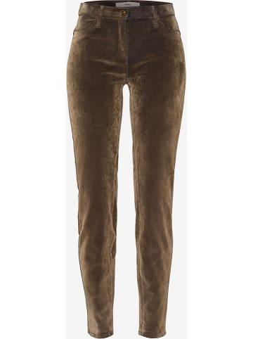 """BRAX Spodnie """"Spice"""" - Skinny fit - w kolorze jasnobrązowym"""