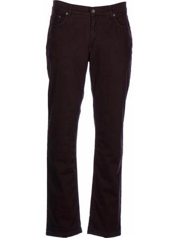 """BRAX Spodnie """"Cooper TT"""" - Regular fit - w kolorze brązowym"""