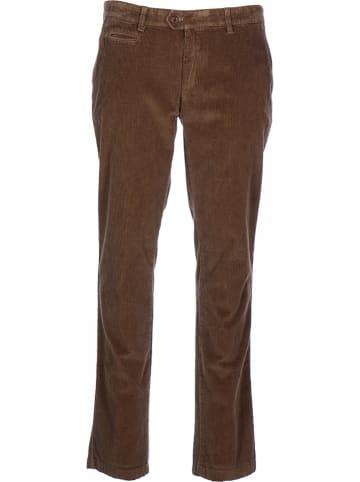 """BRAX Spodnie sztruksowe """"Everest"""" w kolorze brązowym"""