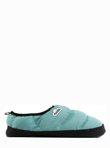 "Nuvola Pantoffels ""Clasica Suela de Goma"" turquoise"