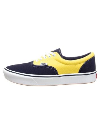 "Vans Sneakers ""Comfy Cush Era"" donkerblauw/geel"