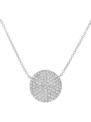 Revoni Złoty naszyjnik z diamentami - dł. 40 cm