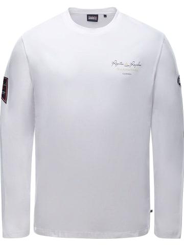 """MARINEPOOL Koszulka """"RR Paulo"""" w kolorze białym"""