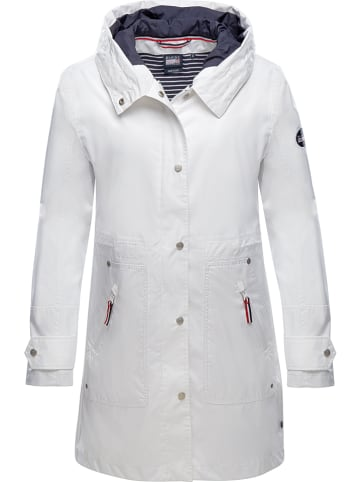 """MARINEPOOL Płaszcz """"Lisette"""" w kolorze białym"""