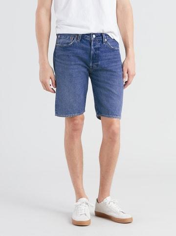 """Levi´s Szorty dżinsowe """"501"""" - Regular fit - w kolorze niebieskim"""