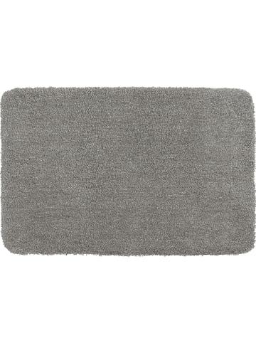 """Wenko Hoogpolige badmat """"Melangé"""" grijs - (L)120 x (B)70 cm"""